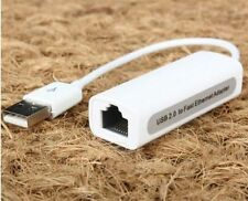 Adapt to1PCS USB2.0 to RJ45 Ethernet USB Connector 10/100Mbps Wired LAN Network