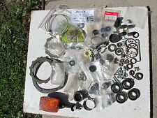 HONDA NOS PARTS LOT VINTAGE PARTS LOT OLD MOTOR CYCLE PARTS LOT