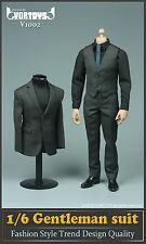 VORTOYS V1002 1/6 male gentleman  gray Fashion V1002 Suit clothing Model toys
