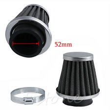 52MM Intake Refit Air Filter Cleaner Clamp-on Fit for Motorcycle Scooter ATV New