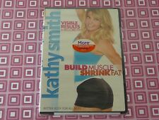 Kathy Smith Build Muscle, Shrink Fat DVD 2007  USA Seller
