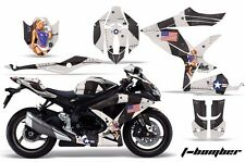 AMR Racing Graphic Kit Wrap Part Suzuki GSXR 600/750 Street Bike 08-10 TBOMB BLK