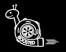Boosted snail sticker decal stance nation import tuner vinyl  illmotion JDM