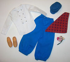 Vintage Doll Travel Costume Ken in Holland 1964 #0777 #777 Barbie