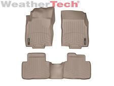WeatherTech® Floor Mats FloorLiner for Nissan Rogue - 2014-2017 - Tan