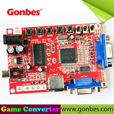 Gonbes GBS-8100 PC VGA to CGA (15kHz)/RGBS/AV/S-VIDEO MAME CRT TV Arcade Monitor
