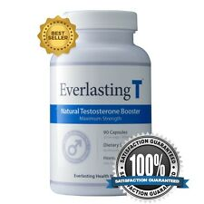 Everlasting T - Testosterone Booster - Increased Sex Drive and Fat Burner