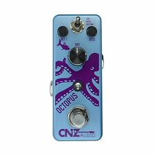 CNZ Audio Octopus - Octave Guitar Effects Pedal, True Bypass