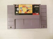 Itchy & Scratchy Game (Super Nintendo Entertainment System, 1995) SNES - Tested