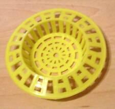 2 Küchensiebe - Abflusssiebe - Spühlbecken Siebe gelb 70mm ( 38 mm ) - Neu OVP