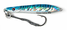 gypsy lures saltwater butterfly flutter jig 80g 3 oz blue mackerel jigging lure