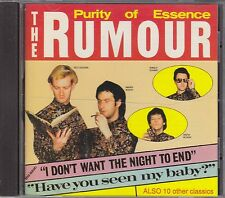 THE RUMOUR - purity of essence CD