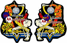 Multi Williams Side Art 3M High Quality Decals - Arcade Game Decals Stickers