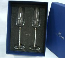 Swarovski Crystalline Toasting Flutes (Set Of 2), Party Wedding Crystal - 255678