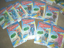 5 4 3 2 1 EXTREMELY RARE ORIGINAL SET OF ALL 10 THUNDERBIRD FIGURES