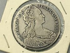 1918  Eritrea (Italian Colony). Large Silver Tallero Dollar Coin - Very Nice
