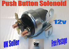 5 x TERMINAL PUSH BUTTON CLASSIC STARTER SOLENOID 12v  CAR AUTO