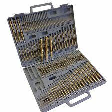 115PC TITANIUM DRILL SET W/ INDEX CASE NUMBER LETTER FRACTIONAL FREE SHIPPING