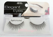 NIB~ Ardell Elegant Eyes SOPHISTICATED Lashes Glitter False Fake Eyelashes Black