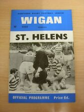 26/12/1967 Rugby League Programme: Wigan v St Helens  . Thanks for taking the ti