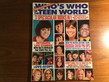 "VTG OCT.1972 WHO'S WHO IN THE WORLD ""3 spectacular books in 1""MAGAZINE"