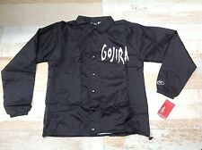 GOJIRA - GOAT HEAD BASIC WINDBREAKER jacket size S new