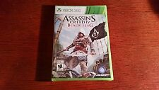 XBOX 360 GAME ASSASSIN'S CREED IV BLACK FLAG  BRAND NEW & FACTORY SEALED