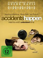 Accidents Happen ( Tragikkomödie ) mit Geena Davis, Harrison Gilbertson NEU