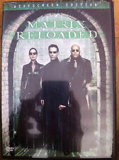 Keanu Reeves THE MATRIX RELOADED ~ Wachowski Brothers Sci-Fi Action ~ R1 US DVD