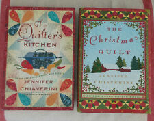 The Elm Creek Quilt QUILTER'S KITCHEN + QUILTER'S CHRISTMAS Jennifer Chiaverini