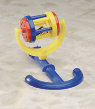 "Spinning roller with perch parakeet cockatiel bird toy, 4"" W by 5"" L, BT6644"