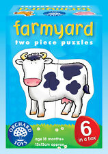 Orchard Toys 202 Farmyard  Baby Infant Toddler First Jigsaw Puzzle 18 months +