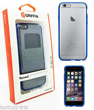 "Genuine Griffin Reveal chiaro Shell Case Cover per Apple iPhone 6 & 6s 4.7"" Blu"