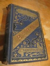 SCARCE POEMS BY LORD BYRON CA 1870S ROUTLEDGE EDITION