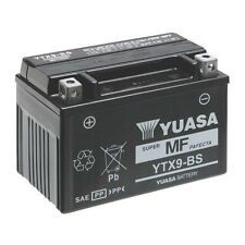 Battery ORIGINAL Yuasa YTX9-BS COMPLETE ACID Malaguti Clapperboard 150 2004/2005