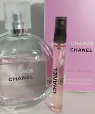 Women's 12ml spray - Sexy CHANEL CHANCE EAU TENDRE for purse, cosmetic tote bag