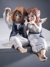 +# A007841 Goebel Archiv Muster Randfigur zwei Engel mit Kristall Herz