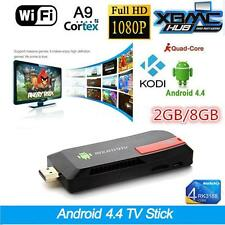 TV STICK ANDROID 4.4.2 Quad Core RK3188 2G 8gwifi BLUETOOTH HDMI 1080p IPTV KODI
