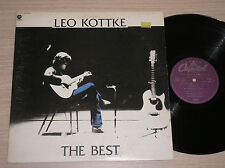 LEO KOTTKE - THE BEST - 2 x LP 33 GIRI FRANCE