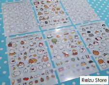 MOLANG STICKERS 6 Sheets Included (Craft/Scrapbook/Stationary) *UK Seller*