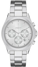 DKNY NY2378 Parsons Silver Dial Stainless Steel Chronograph Men's Watch