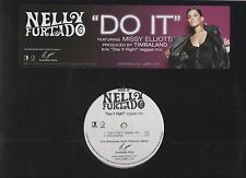 Nelly Furtado Say it Right Remix / Do it with Missy Elliott 2006 Promo Vinyl LP
