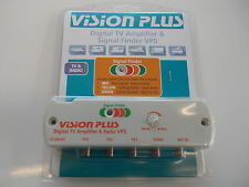 Vision Plus VP5 Digital Amplifier & Signal Finder 4 Caravan Television & Radio