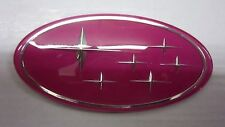 Subaru Legacy Forester Pink STI Wrx Grille badge Emblem Grill