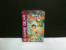 The Jungle Book Sega Game Gear Disney  NEW & SEALED