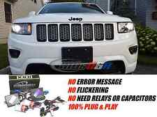 Headlights Low Beams Xenon HID Conversion Kit for 2011 up Jeep Grand Cherokee