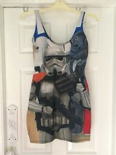 Blackmilk Star Wars Storm Trooper Size M Body Con Dress