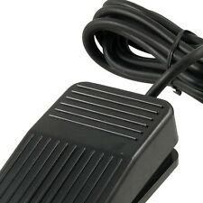 AC 250V 10A SPDT NO NC Antislip Power Foot Pedal Switch Black New