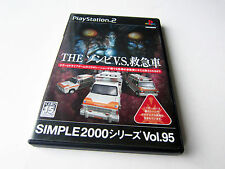 Simple 2000 series vol.95 The Zombie vs. Ambulance Sony PlayStation 2 ps2 jap 18