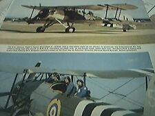magazine cutting 1986 rn historic flight swordfish ii ls326 yeovilton